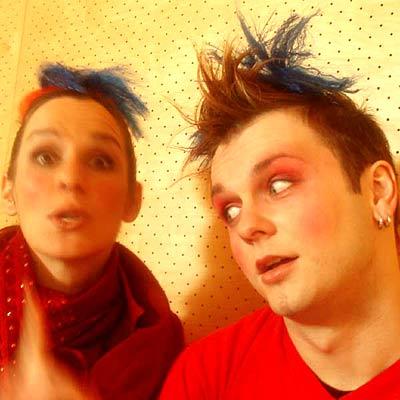 Geggis reloaded: Andrea Malek & Tomas Tomke (Foto: © teatro)