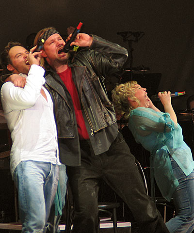 (Rob Fowler, Petr Gazdik & Tina Schöltzke; Foto: © Martin Bruny)