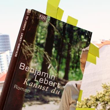 Benjamin Lebert: Kannst du, 2006; Foto: Martin Bruny