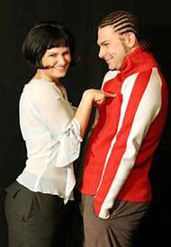 Katrin Mersch & Danial Williams; Pic: traumi