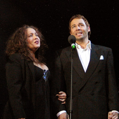 Musical Christmas 2005, Jacqueline Braun, Rob Fowler, 3.12.2005; Foto: © Martin Bruny
