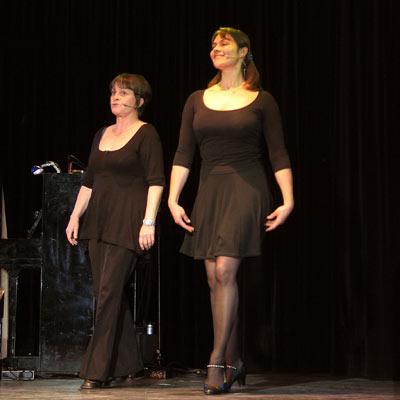 Kathy Tanner & Anne Weiner, 23.11.2005; Foto: © Martin Bruny