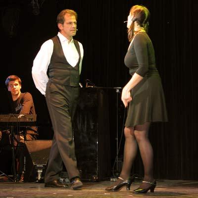 Dennis Kozeluh & Anne Weiner, 23.11.2005; Foto: © Martin Bruny