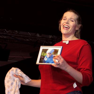 Suzanne Carey, 23.11.2005; Foto: © Martin Bruny