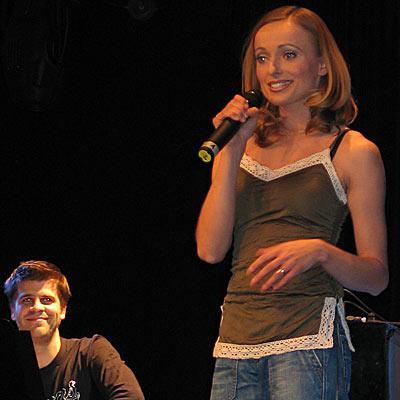 Susanne Ten Harmsen, 23.11.2005; Foto: © Martin Bruny