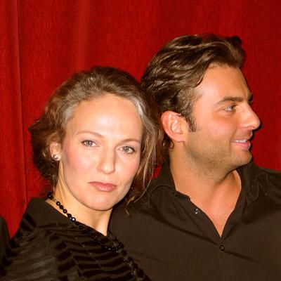 Susan Rigvava-Dumas & Carsten Lepper, Wien 2006 (Foto: © Martin Bruny)