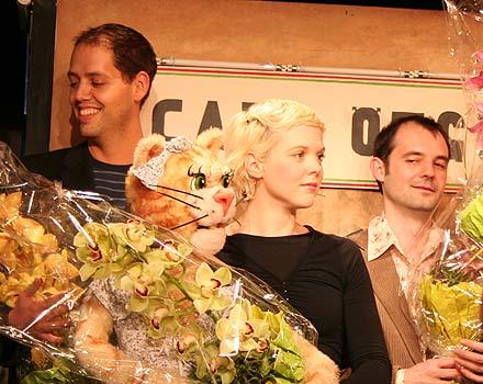 Johannes Glück, Sigrid Spörk, Erwin Bader; Foto: Martin Bruny