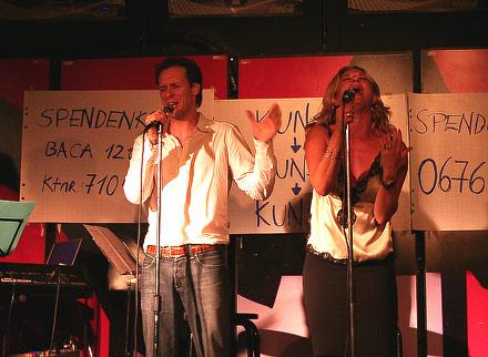 Hannes Muik und Caroline Frank
