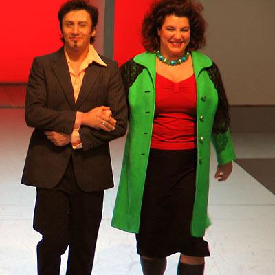 Bruno Grassini, Murielle Stadelmann, 16.12.2004, Foto: Martin Bruny