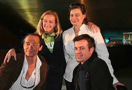 Christian Kolonovits, Kathrin Zechner, Michaela Ronzoni, Stefan Huber; Foto: Martin Bruny