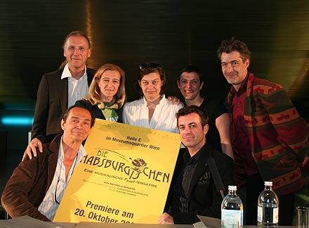 Harald Thor, Christian Kolonovits, Kathrin Zechner, Michaela Ronzoni, Pia Virolainen, Stefan Huber, Martin Mayer; Foto: Martin Bruny