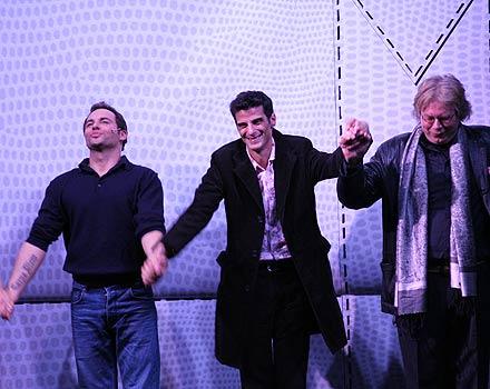 Rob Fowler, Alonso Barros und Duncan Hayler; Foto: Martin Bruny