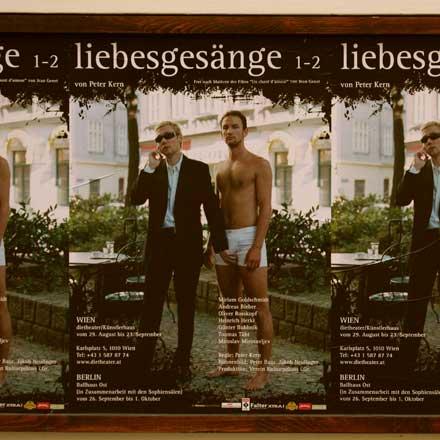 Liebesgesänge-Plakat  (Foto: Martin Bruny)