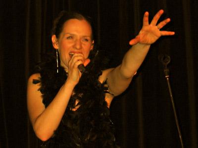 Andrea Malek, 2. März 2005; Foto: Martin Bruny