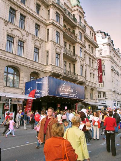 Theater an der Wien; Pic: Martin Bruny, 24.9.2005