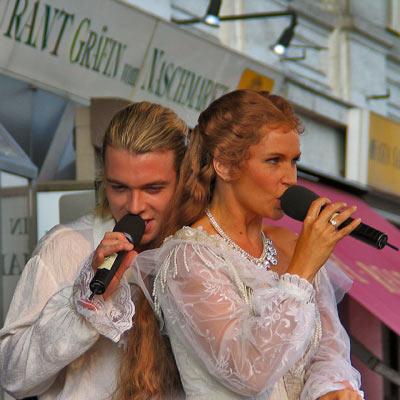 Mate Kamaras & Maya Hakvoort; Pic: Martin Bruny, 24.9.2005