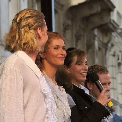 Mate Kamaras & Maya Hakvoort, Luzia Nistler & Fritz Schmid; Pic: Martin Bruny, 24.9.2005