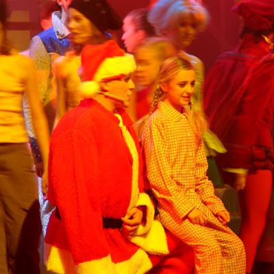 XMAS DREAM RELOADED - Das Weihnachtsjugendmusical, 10.12.2004, Foto: Martin Bruny