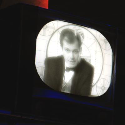 Dennis Kozeluh als Erzähler, 22.1.2005, Foto: Martin Bruny