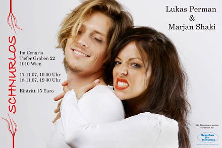 schnurlos - Lukas Perman & Marjan Shaki