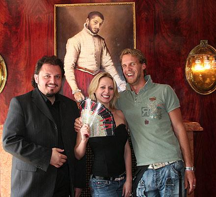 Werner Auer, Elisabeth Sikora, Markus Neugebauer [Foto: Martin Bruny]