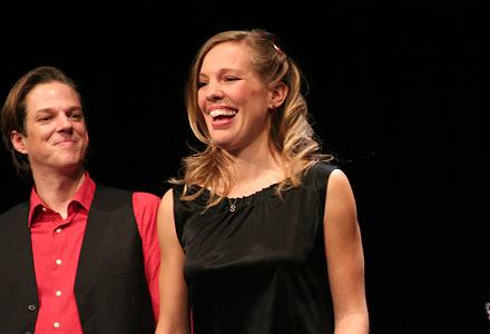Markus Richter & Sonja Schatz; Foto: Martin Bruny