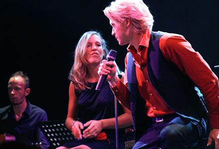 Sonja Schatz & Andreas Wanasek; Foto: Martin Bruny