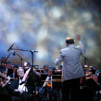 Das Orchester der VBW unter Caspar Richter, 28.11.2004, Foto: Martin Bruny