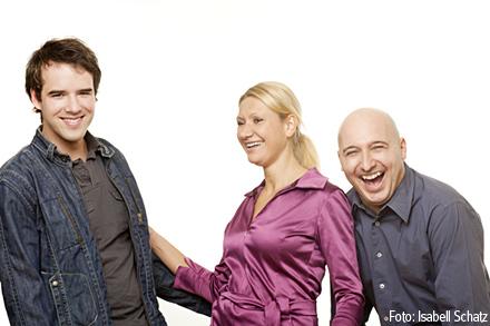Thomas Smolej, Angelika Niedetzky und Christoph Fälbl