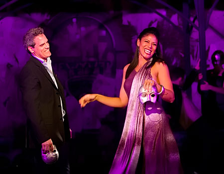 Michael Park, Merle Dandridge, Photo by T. Charles Erickson